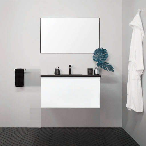 MILANO Slim 600mm Vanity With Stone Top