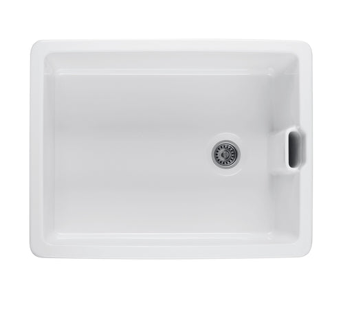 Turner Husting Belfast 60 x 46 Fine Fireclay Butler Sink with Internal Overflow
