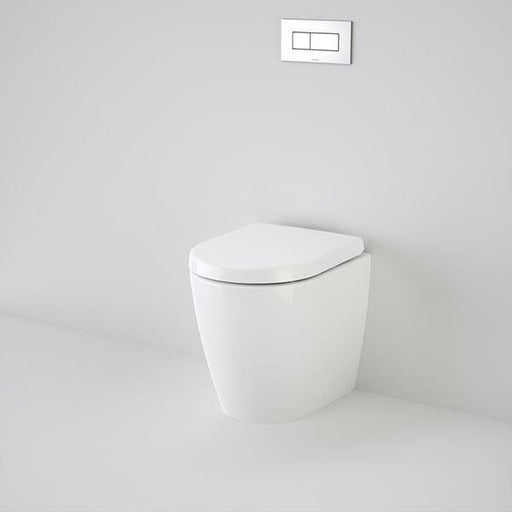 CAROMA-Caroma Urbane Compact Wall Faced Invisi Series II Toilet Suite - Brand_Caroma, Colour_Gloss White, Flushing Technology_Boxrim Flushing, Pan Trap Type_S & P Trap, Toilet Type_Concealed Wall Face Toilet-Ideal Bathroom Centre