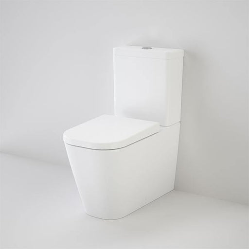 CAROMA-Caroma Luna Square Cleanflush® Wall Faced Toilet Suite - Brand_Caroma, Colour_Gloss White, Flushing Technology_Rimless Flushing, Pan Trap Type_S & P Trap, Toilet Type_Back To Wall Toilet, Water Inlet Position_Back Inlet, Water Inlet Position_Bottom Inlet-Ideal Bathroom Centre