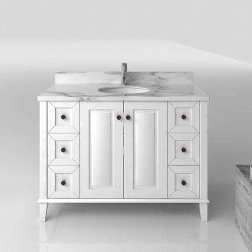 TURNER HASTINGS Coventry 1200mm Vanity With White Marble Top