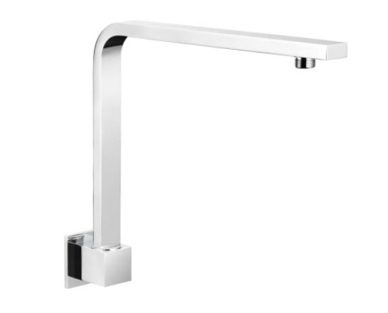 Luxury Square High Rise Shower Arm-350mm