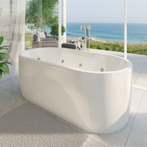 Decina Elisi 1700 Contour Spa Bath-14 Jets - Idealbathroomcentre