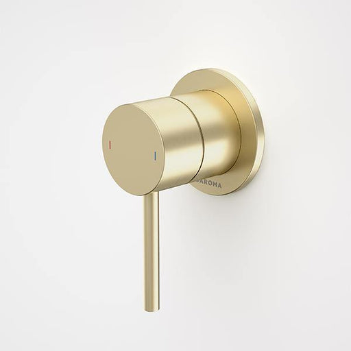 CAROMA-Caroma Liano II Bath/ Shower Mixer - Brand_Caroma, Collection_Liano II, Colour_ Matte Black, Colour_Brushed Gold, Colour_Brushed Nickel, Colour_Chrome, Colour_Gun Metal, Product Type_Wall/Shower Mixer, Room_Bathroom, Shape & Design_Round-Ideal Bathroom Centre
