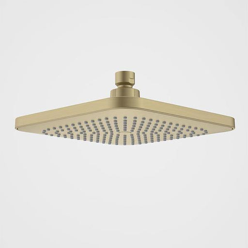 CAROMA-Caroma Luna Overhead Shower Head Only - Brand_Caroma, Collection_Luna, Colour_ Matte Black, Colour_Brushed Gold, Colour_Brushed Nickel, Colour_Chrome, Length_200mm, Product Type_Shower Rose, Room_Bathroom, Shape & Design_Soft Square-Ideal Bathroom Centre