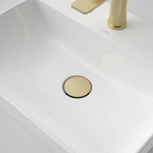 CAROMA-Caroma Urbane II Basin Dome Pop Up Waste - Brand_Caroma, Collection_Urbane II, Colour_ Matte Black, Colour_Brushed Gold, Colour_Brushed Nickel, Colour_Chrome, Colour_Gun Metal, Product Type_Pop Up Waste, Room_Bathroom-Ideal Bathroom Centre