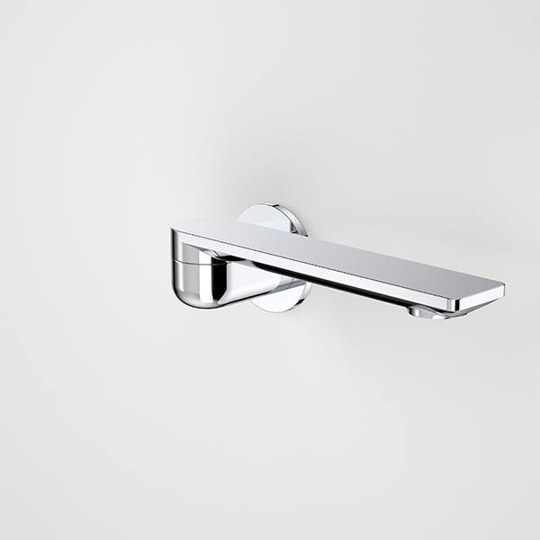 Caroma Urbane II 220mm Bath Swivel Outlet-Round Cover Plate - Idealbathroomcentre