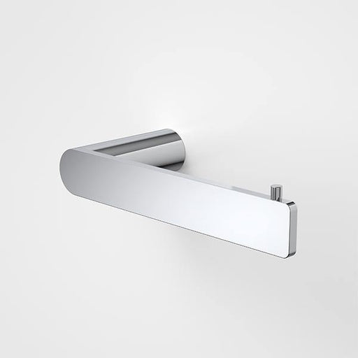 CAROMA-Caroma Urbane II Toilet Roll Holder - Brand_Caroma, Collection_Urbane II, Colour_ Matte Black, Colour_Brushed Gold, Colour_Brushed Nickel, Colour_Chrome, Colour_Gun Metal, Product Type_Toilet Roll Holder, Room_Bathroom, Shape & Design_Soft Square-Ideal Bathroom Centre