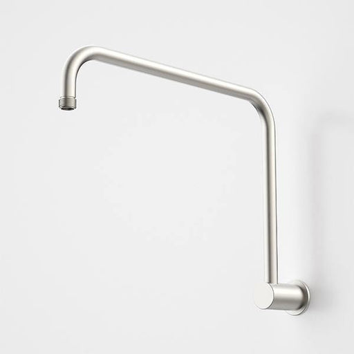 CAROMA-Caroma Urbane II 460mm Upswept Shower Arm - Brand_Caroma, Collection_Urbane II, Colour_ Matte Black, Colour_Brushed Gold, Colour_Brushed Nickel, Colour_Chrome, Colour_Gun Metal, Length_400mm, Product Type_Wall High Rise Arm, Room_Bathroom, Shape & Design_Round-Ideal Bathroom Centre