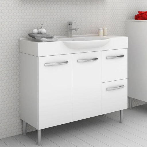 Timberline Lisbon 1050mm Freestanding Vanity on Legs