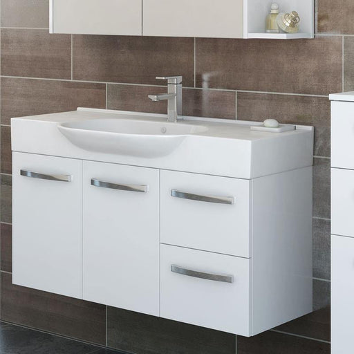 Timberline Lisbon 1050mm Wall Hung Vanity