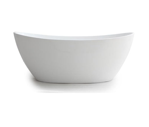 Milano Paris 1500/1700mm  Freestanding Bath-Matte White