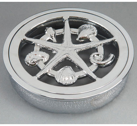 Bounty Brassware Classic Starfish Floor Wastes 80MM Round