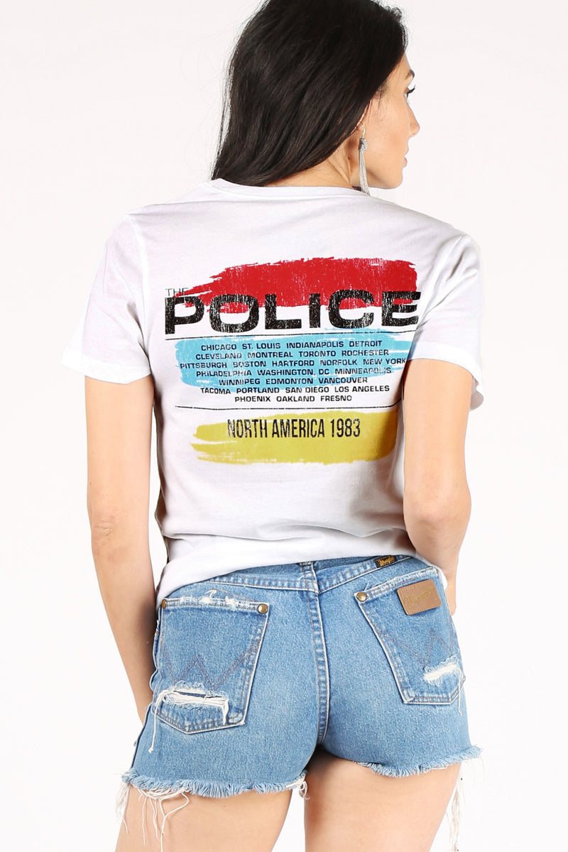 The Police NYC Tour Tee