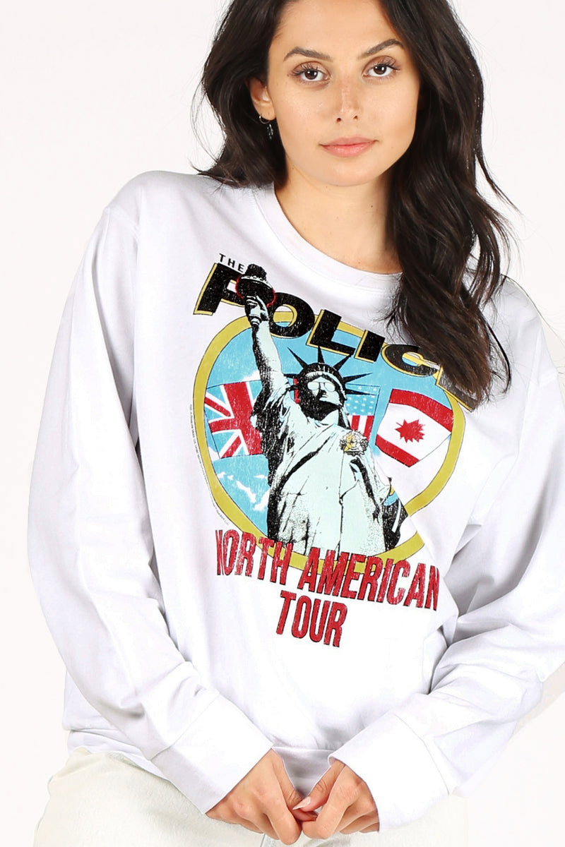The Police NYC Tour Pullover