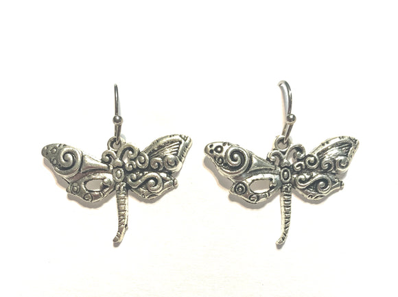 Fancy Dragonfly Earrings
