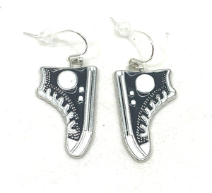 Enamel High Top Sneaker  Earrings