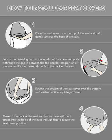 How to install Car Seat Covers