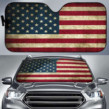 Load image into Gallery viewer, American Flag Auto Sun Shades 918b Universal Fit - CarInspirations