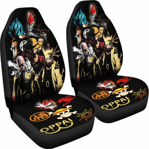 Anime Car Seat Covers 1 Universal Fit 051012 - CarInspirations