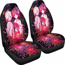 Load image into Gallery viewer, Anime Girl Flower Seat Covers 101719 Universal Fit - CarInspirations