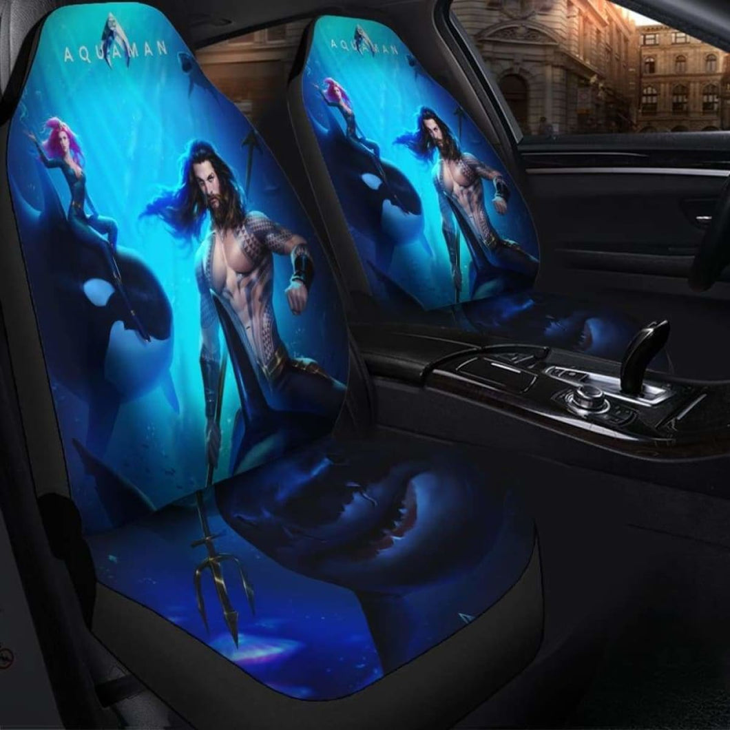 Aquaman Seat Covers 101719 Universal Fit - CarInspirations