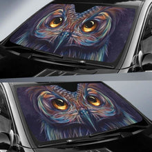 Load image into Gallery viewer, Art Owl Eyes Car Sun Shades 918b Universal Fit - CarInspirations