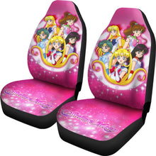 Load image into Gallery viewer, Art Sailor Moon Crystal Car Seat Covers Manga Fan Gift H031520 Universal Fit 225311 - CarInspirations