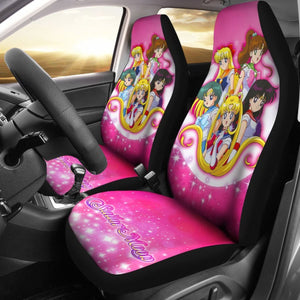 Art Sailor Moon Crystal Car Seat Covers Manga Fan Gift H031520 Universal Fit 225311 - CarInspirations
