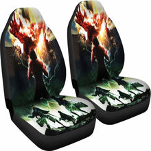 Load image into Gallery viewer, Attack On Titan Anime Seat Covers 101719 Universal Fit - CarInspirations