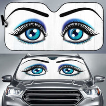 Load image into Gallery viewer, Auto Sunshade - Blue Lady 918b Universal Fit - CarInspirations