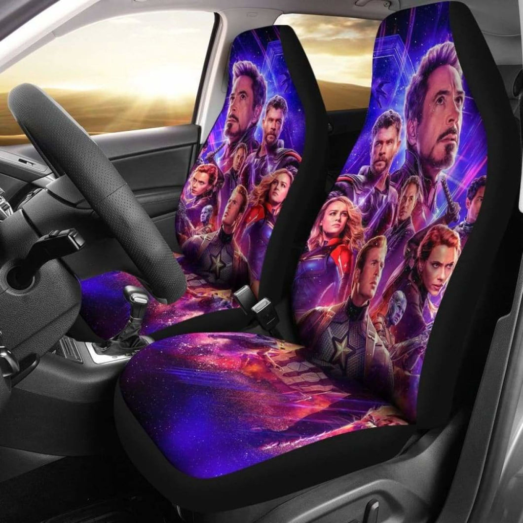 Avengers Car Seat Covers 100421 Universal Fit - CarInspirations