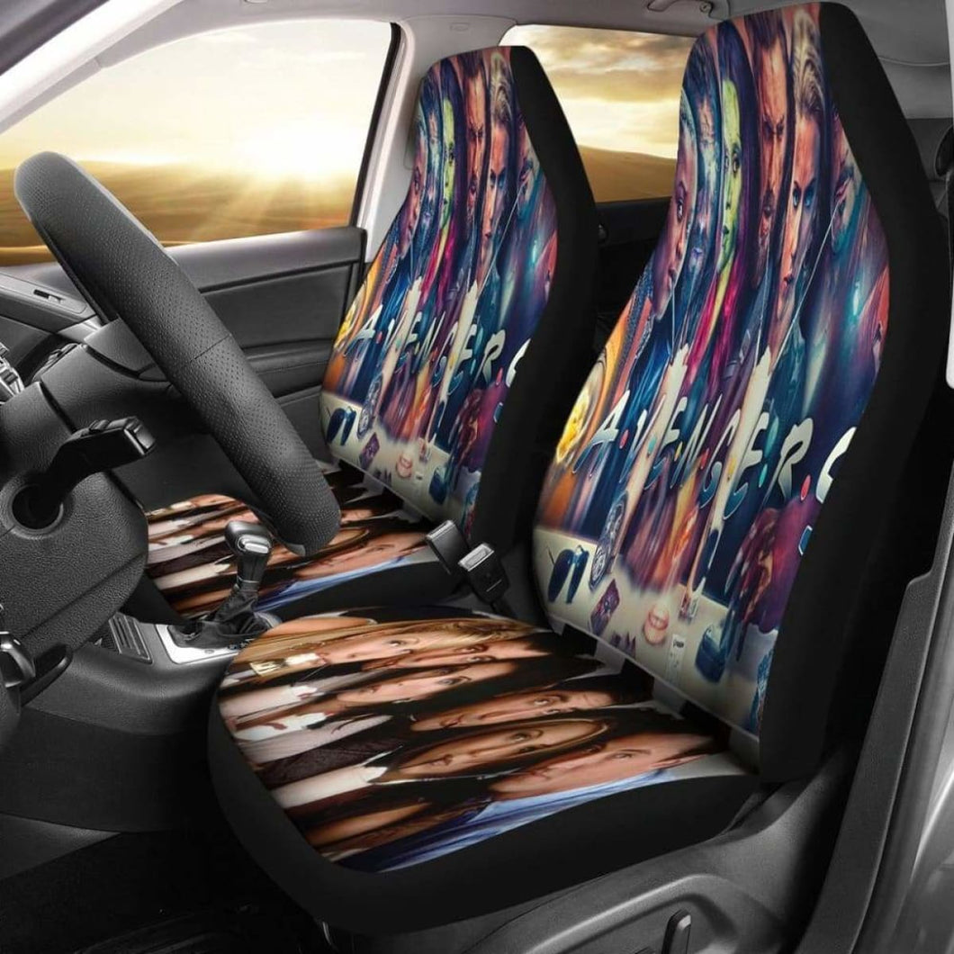 Avengers Mix Friends Car Seat Covers Universal Fit 051012 - CarInspirations