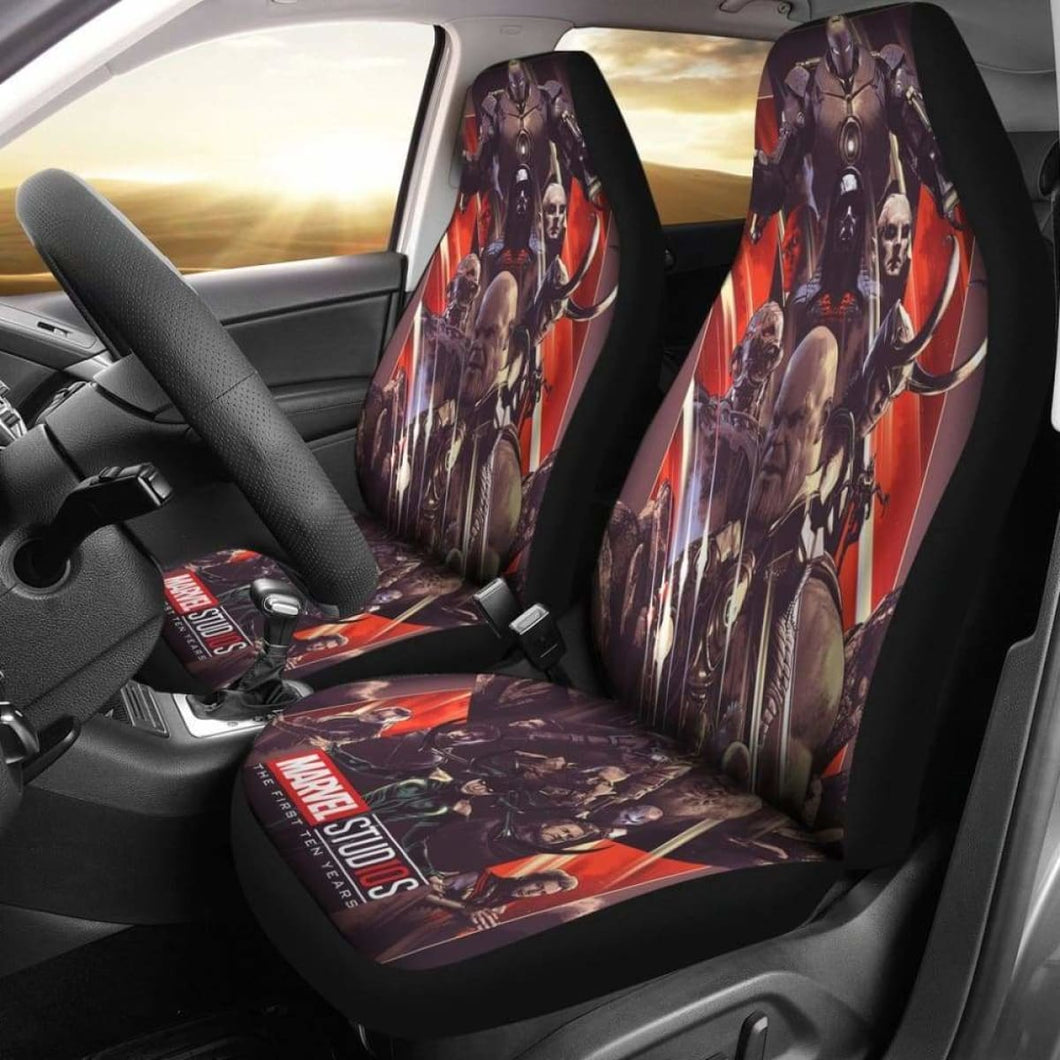 Avengers Villains Car Seat Covers Universal Fit 051012 - CarInspirations