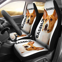 Load image into Gallery viewer, Basenji Car Seat Covers 100421 Universal Fit - CarInspirations