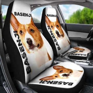 Basenji Car Seat Covers 100421 Universal Fit - CarInspirations
