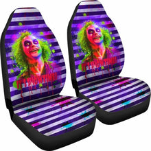 Load image into Gallery viewer, Beetlejuice Car Seat Covers Movie Fan Gift Universal Fit 051012 - CarInspirations