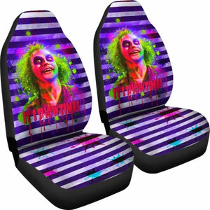 Beetlejuice Car Seat Covers Movie Fan Gift Universal Fit 051012 - CarInspirations