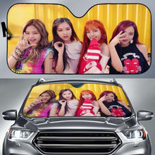 Load image into Gallery viewer, Blackpink Car Sun Shades 918b Universal Fit - CarInspirations
