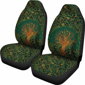 Bohemian Tree Of Life Car Seat Covers 232205 - YourCarButBetter
