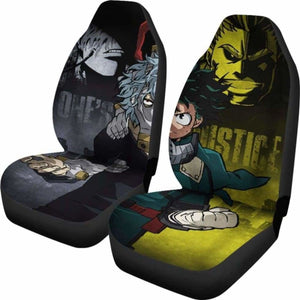 Boku No Hero Academia Car Seat Covers 1 Universal Fit 051012 - CarInspirations