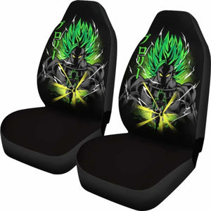 Broly Legendary Saiyan Seat Covers 101719 Universal Fit - CarInspirations