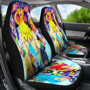 Broly Vs Goku Vs Vegeta Car Seat Covers Universal Fit 051012 - CarInspirations