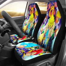Load image into Gallery viewer, Broly Vs Goku Vs Vegeta Car Seat Covers Universal Fit 051012 - CarInspirations