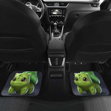 Load image into Gallery viewer, Bulbasaur Cute Pokemon In Dark Theme Car Floor Mats Universal Fit 051012 - CarInspirations