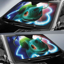 Load image into Gallery viewer, Bulbasaur Detective Pikachu Pokemon Auto Sun Shades 918b Universal Fit - CarInspirations