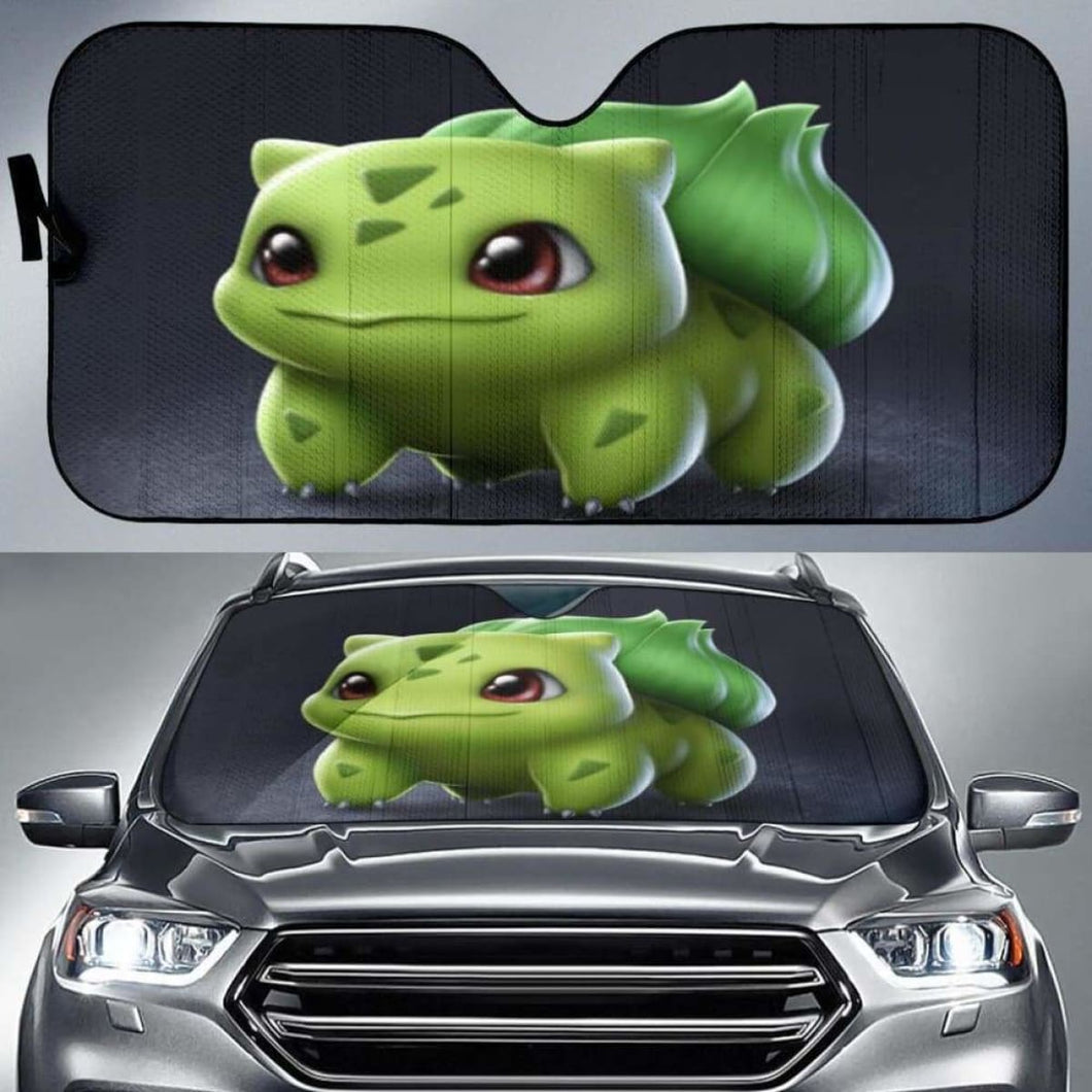 Bulbasaur Pokemon Car Sun Shades 918b Universal Fit - CarInspirations