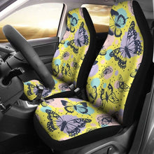 Load image into Gallery viewer, Butterfly Car Seat Covers 100421 Universal Fit - CarInspirations