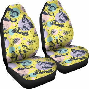 Butterfly Car Seat Covers 100421 Universal Fit - CarInspirations