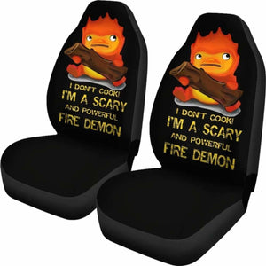 Calcifer Car Seat Covers 1 Universal Fit 051012 - CarInspirations